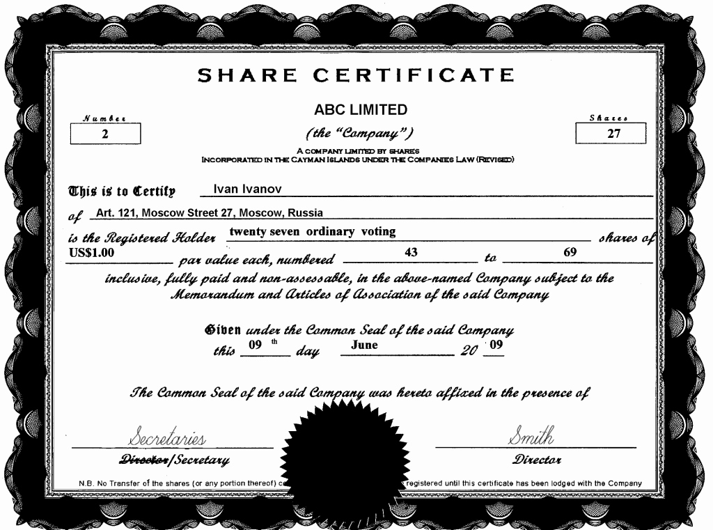 This Entitles the Bearer to Template Certificate Best Of the Bearer This Certificate is Entitled to Template