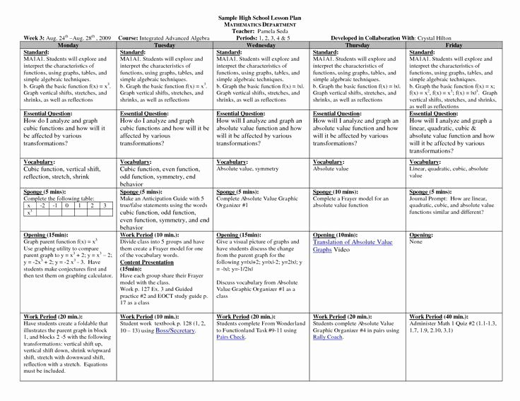 Tiered Lesson Plan Template Inspirational Universal Design Lesson Plan Template – Tiered Lesson Plan