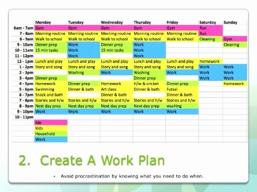 Time Management Plan Template Beautiful Time Management Tips for Parents