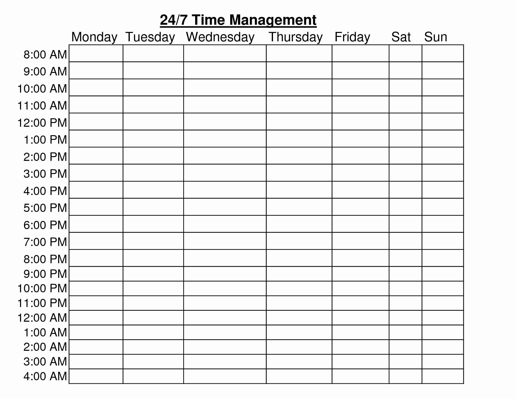 Time Management Plan Template Inspirational Time Management Project Plan Template Excel Download by
