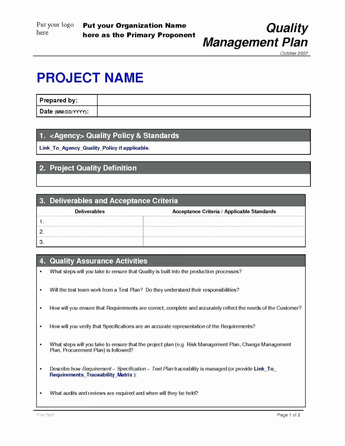 Time Management Plan Template Luxury Project Management Requirements Template Fice Filing