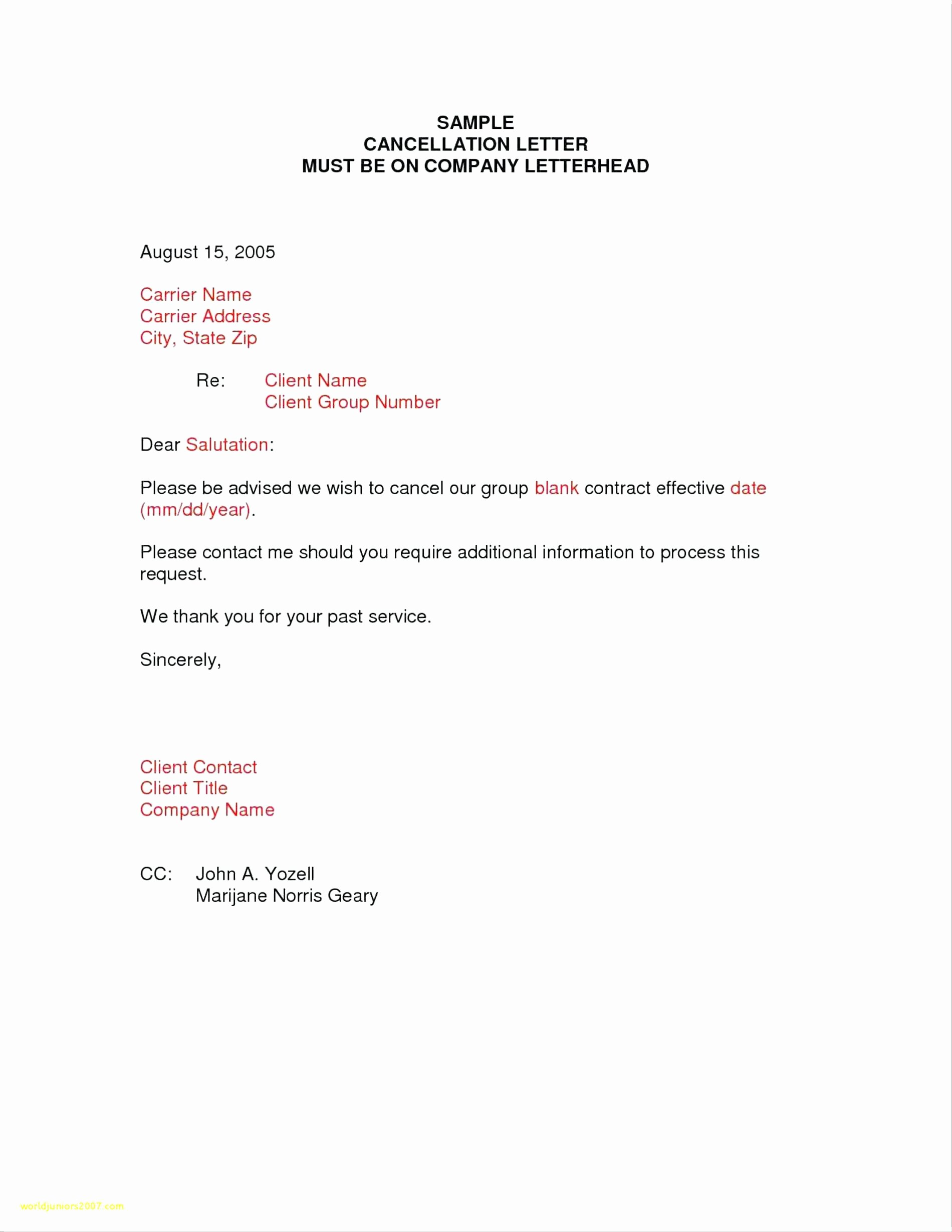 Timeshare Cancellation Letter Sample Elegant Sample Letter to Freeze Gym Membership