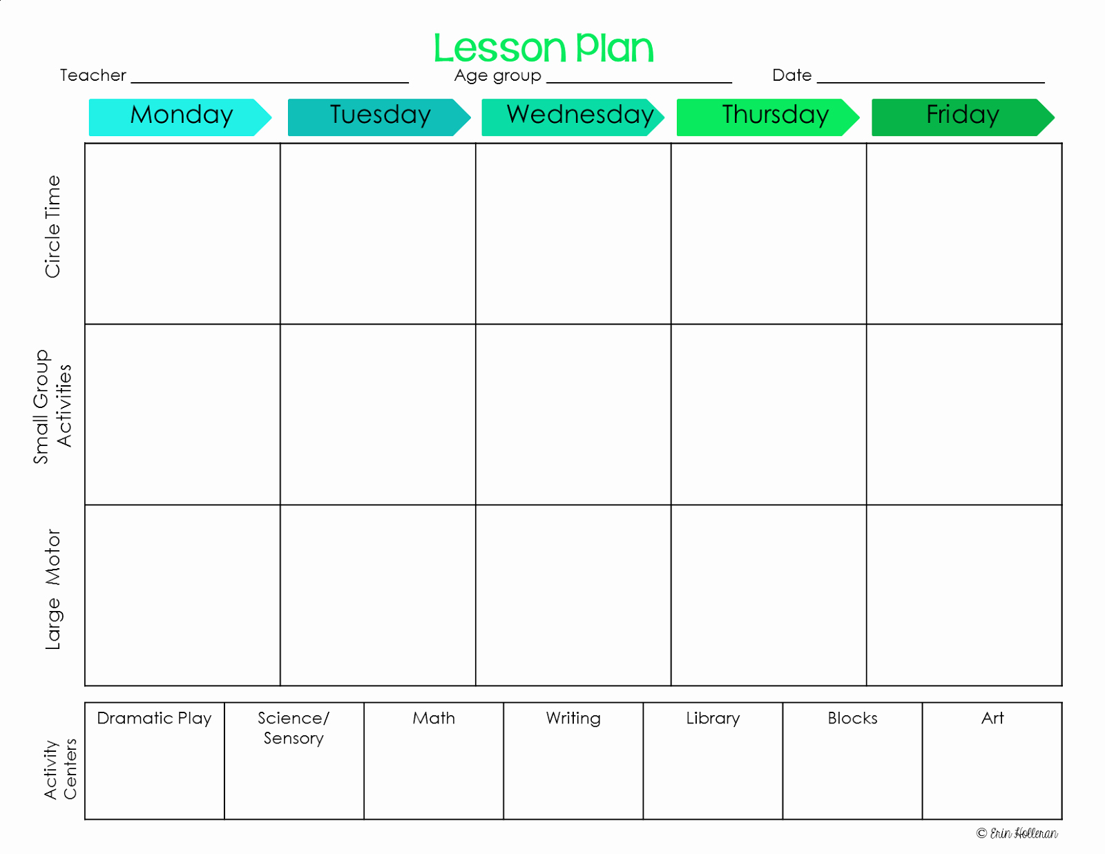 Toddler Lesson Plan Template Luxury Preschool Ponderings Make Your Lesson Plans Work for You