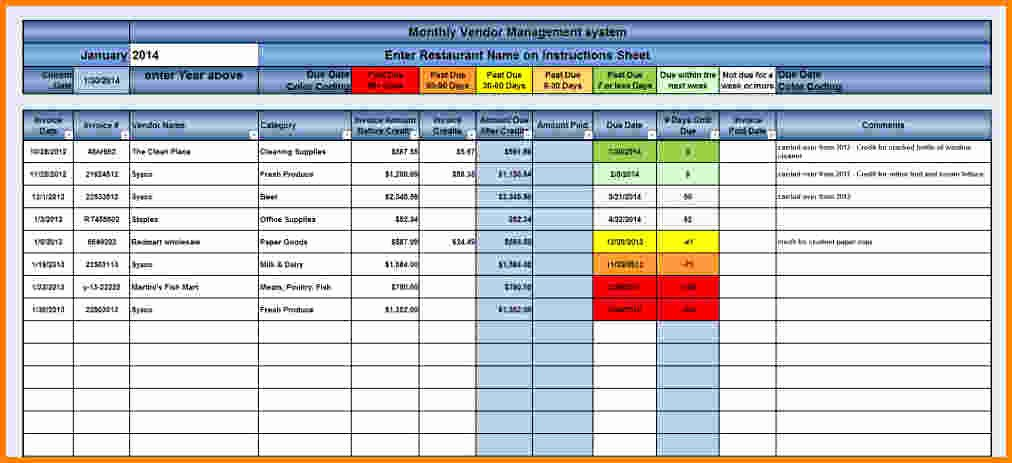Track Invoices and Payments Excel New Project Tracking Template Excel Free Download