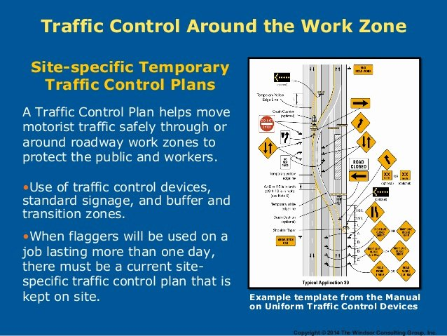 Traffic Control Plan Template Best Of Work Zone Safety In Construction