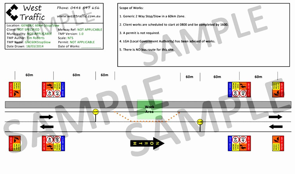 Traffic Control Plan Template Elegant 7 Site Traffic Management Plan Template Ppppu