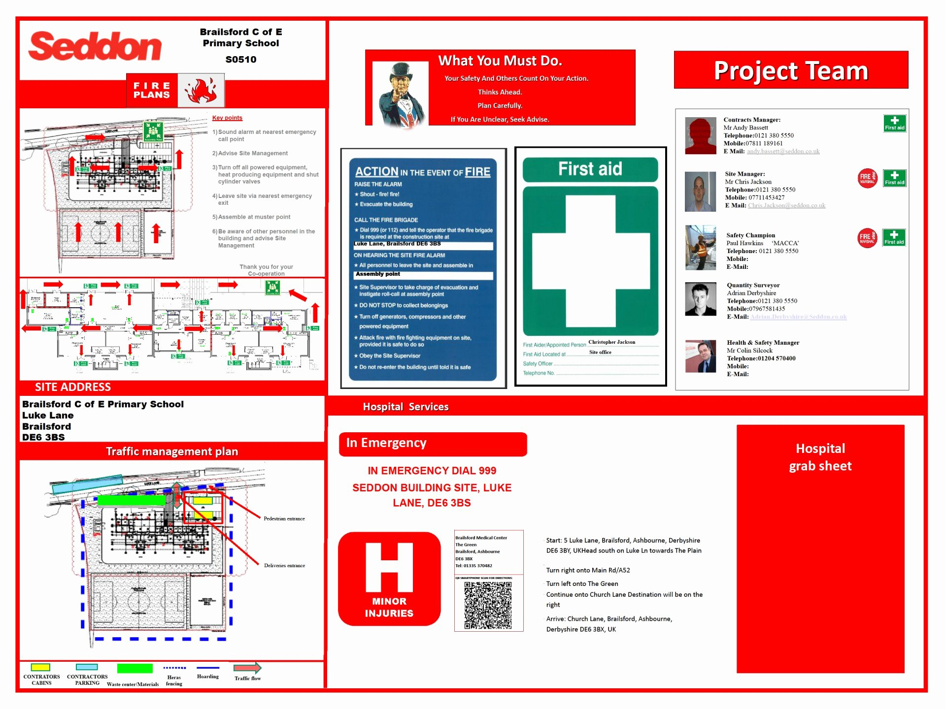 Traffic Control Plan Template Lovely Imposing Construction Site Traffic Management Plan