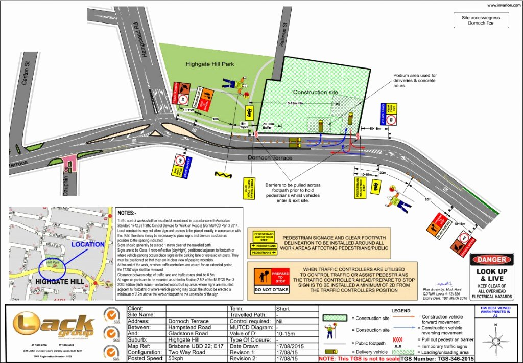 Traffic Control Plan Template Unique Imposing Construction Site Traffic Management Plan