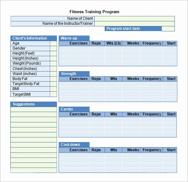 Training Plan Template Excel Awesome Training Plan Template 20 Download Free Documents In