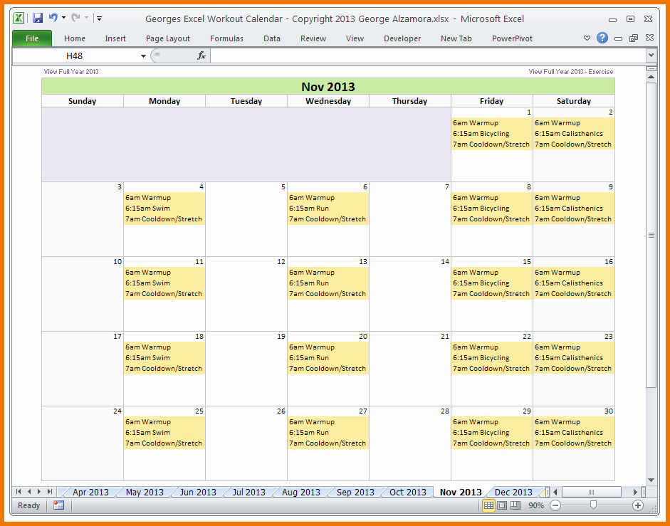 Training Plan Template Excel Unique Excel Template Workout Plan – Eoua Blog