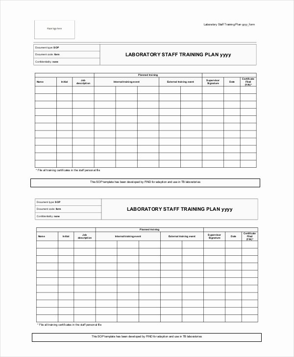 Training Plan Template Word Unique 15 Training Plan Templates Word Pdf