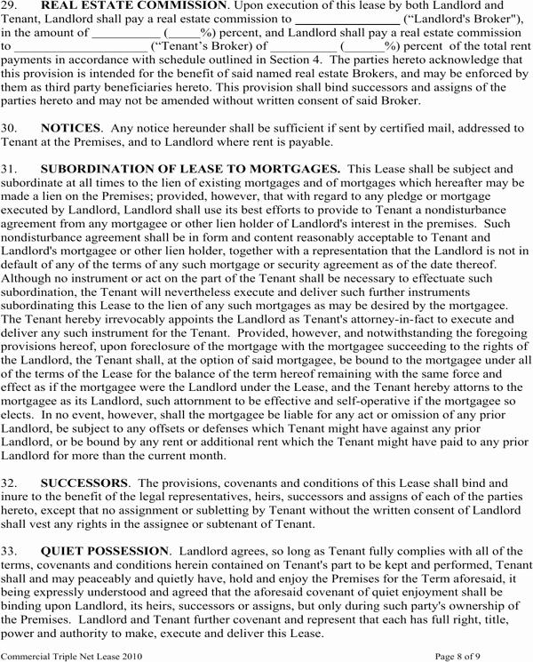 Triple Lease Agreement Fresh Download Kansas Triple Net Lease Agreement form for Free