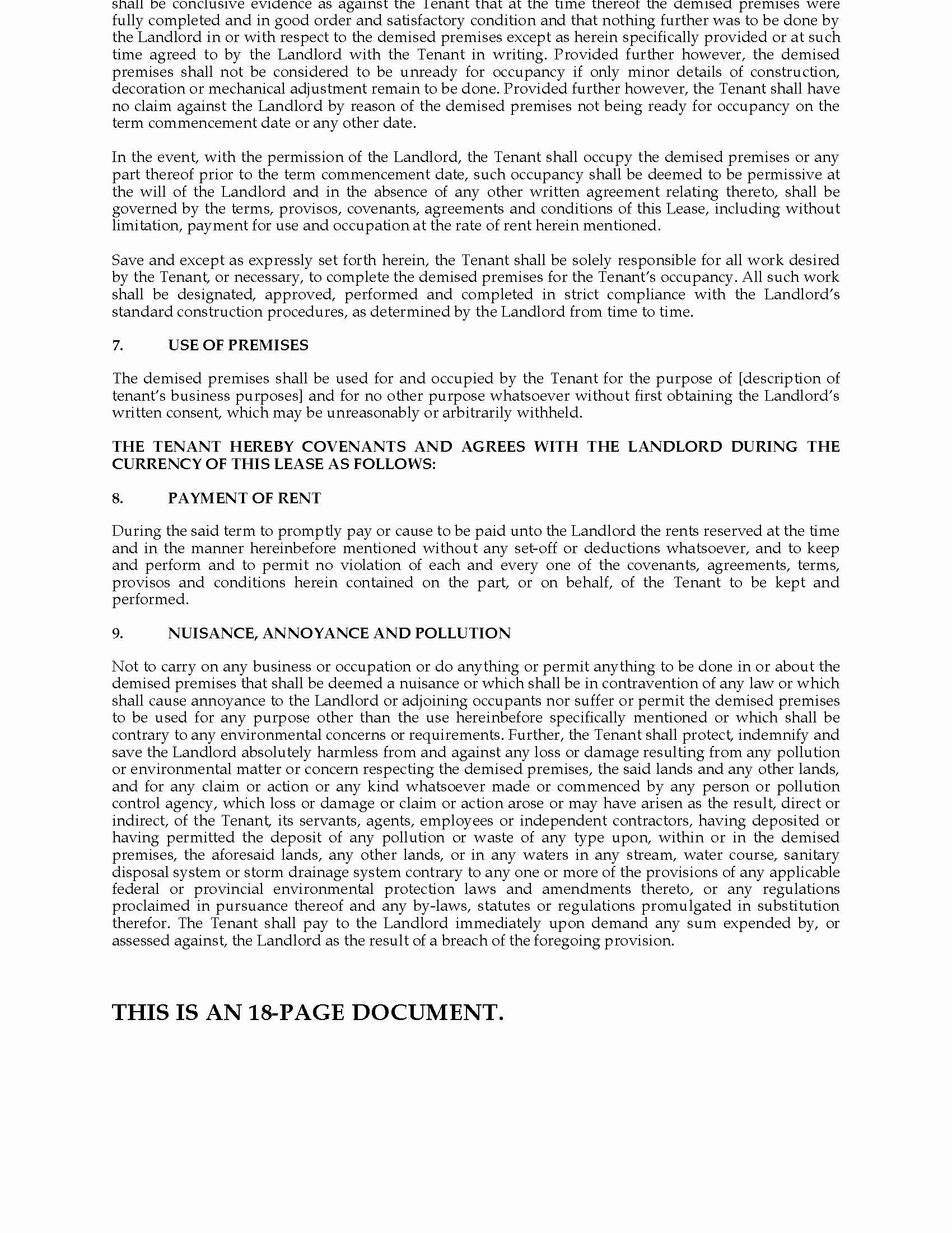 Triple Lease Agreement Unique Tario Mercial Triple Net Lease Agreement