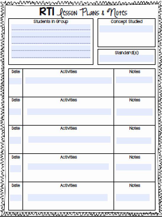 Tutoring Lesson Plan Template Inspirational Gifted Lesson Plan Template Tutoring Plans Sample for