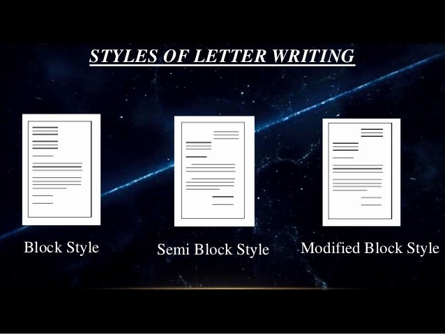 Types Of Letter format Beautiful Letterss and Its Types Letter Samples Applications