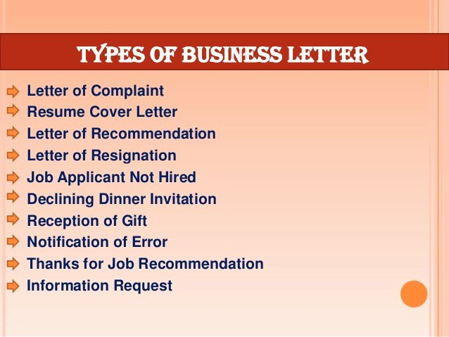 Types Of Letter format Luxury How to format A Business Letter