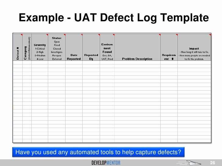 Uat Test Plan Template Beautiful 26 Of User Acceptance Testing Template