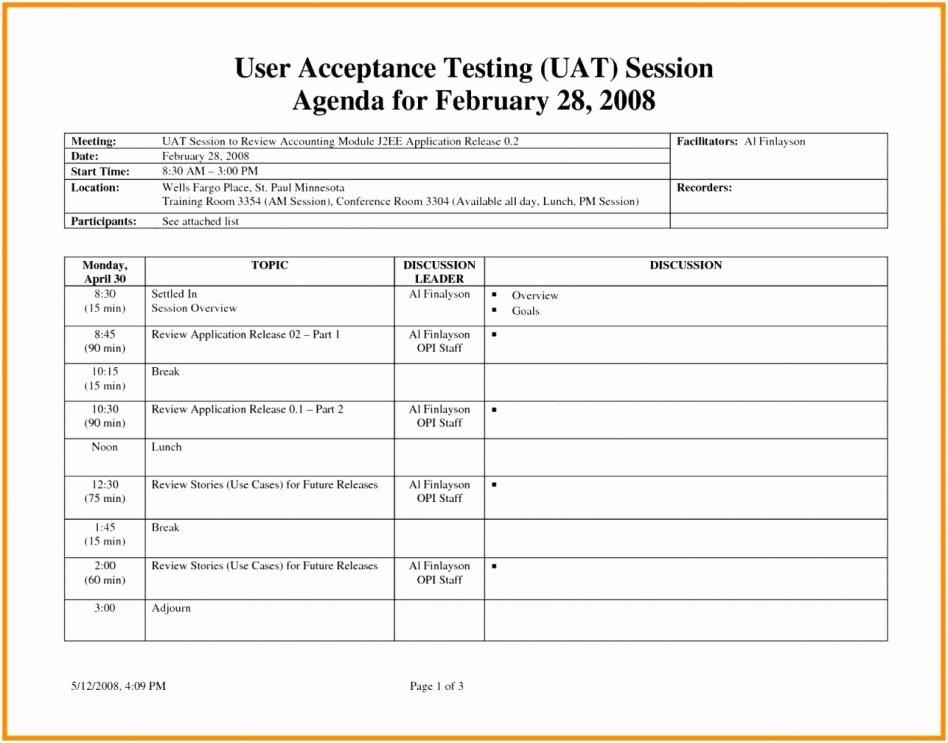Uat Test Plan Template Unique User Acceptance Test Plan Sheet Template Picture Excel