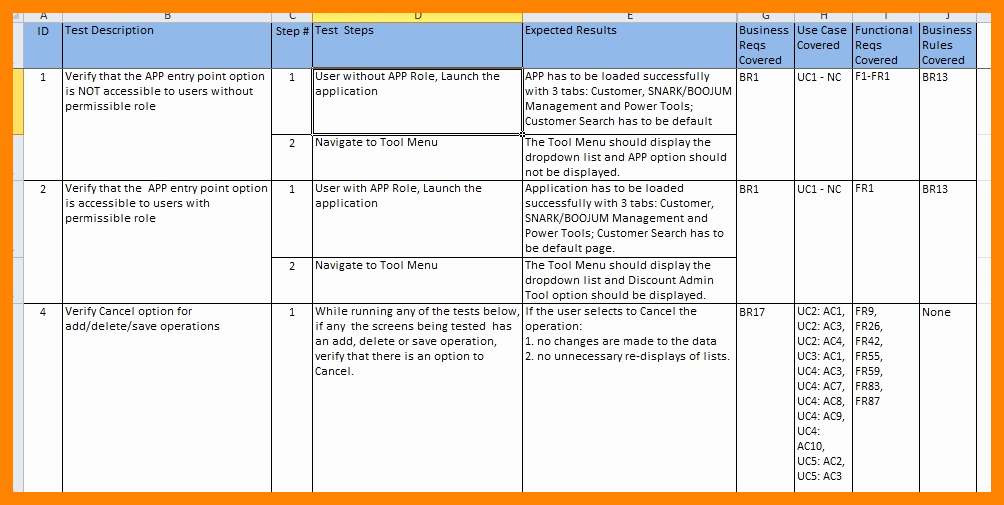 Uat Testing Plan Template Inspirational Uat Testing Template Excel