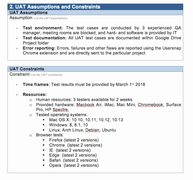Uat Testing Plan Template Luxury A Practical Uat Test Case Using the Example Of Trello