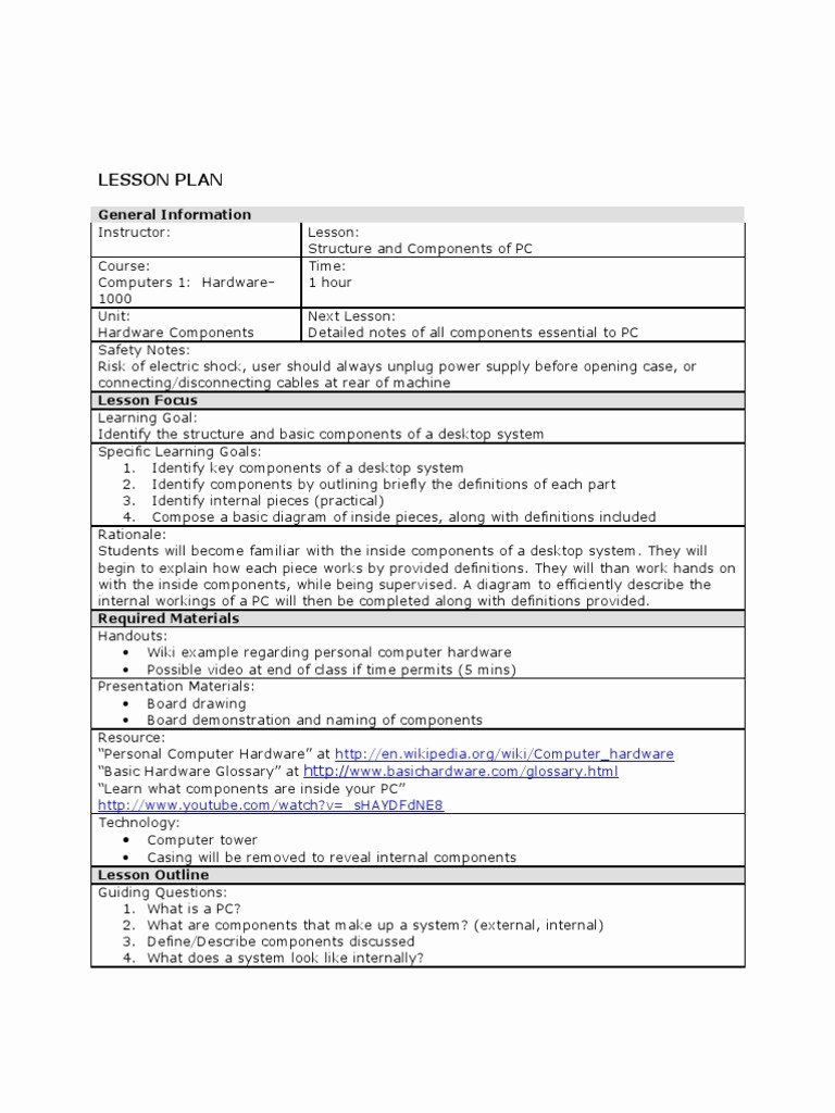 Ubd Lesson Plan Template Fresh Ubd Lesson Plan Template Business Example Kindergarten