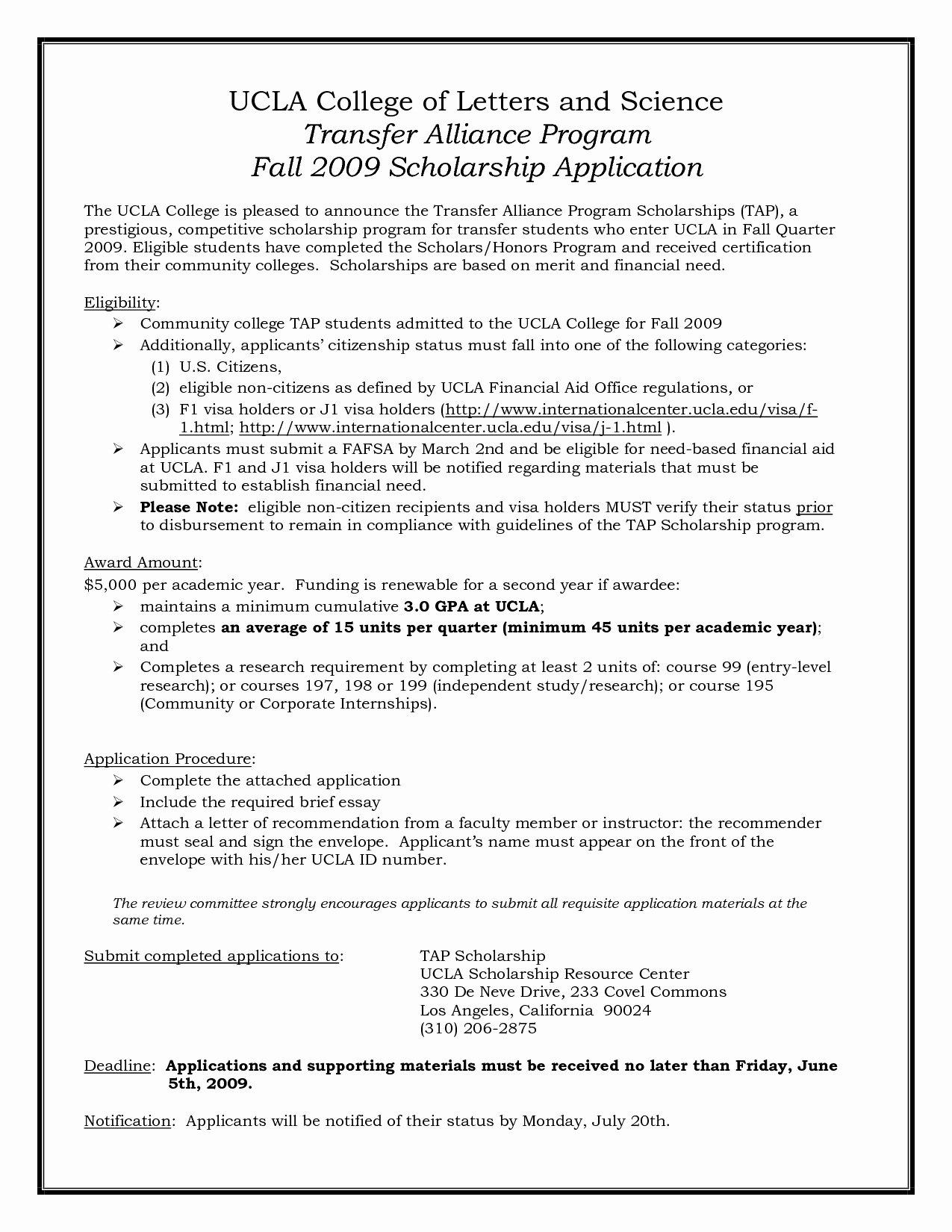 Uc Berkeley Letter Of Recommendation Luxury Ucla Law School Transfer Application
