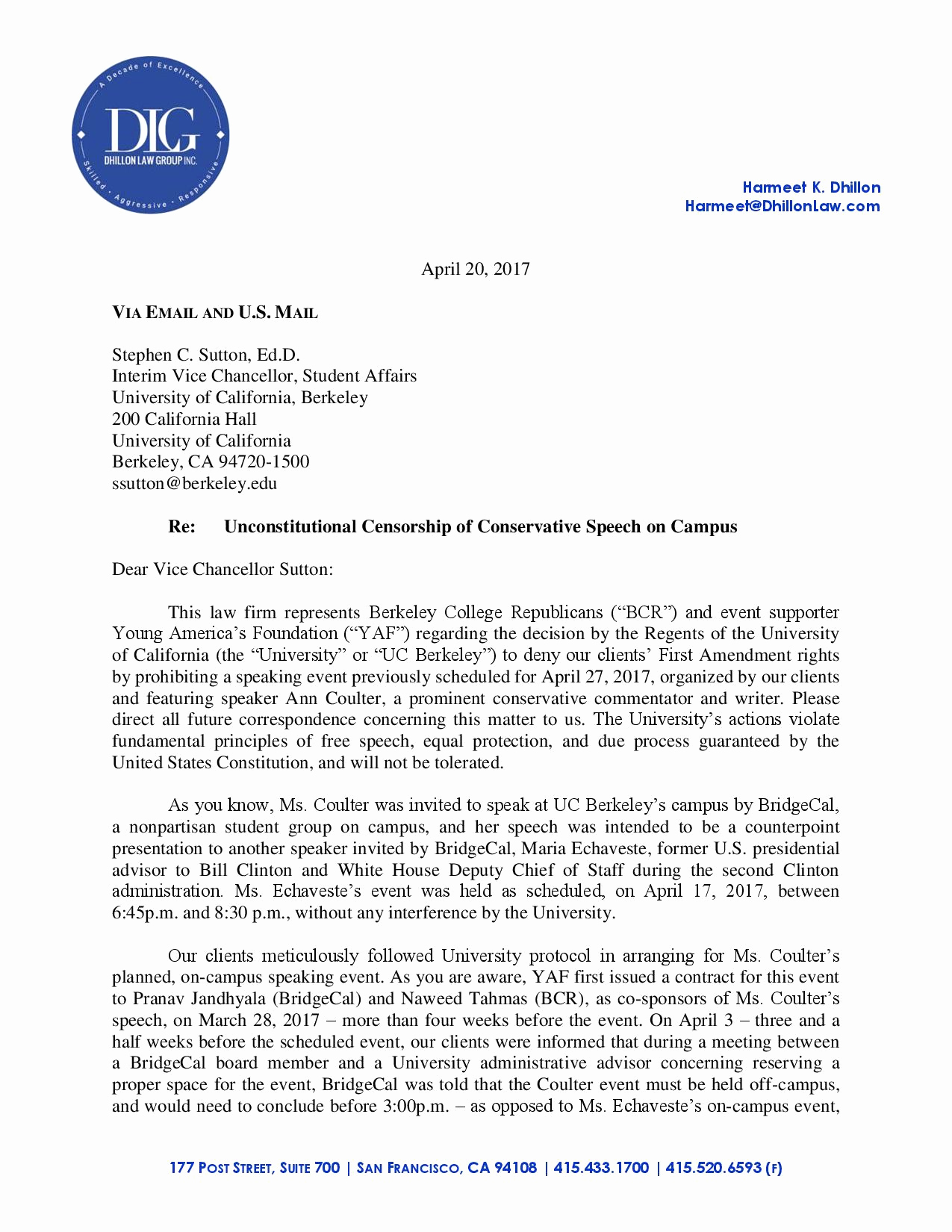 Uc Berkeley Recommendation Letter Best Of Uc Berkeley Reverses Position