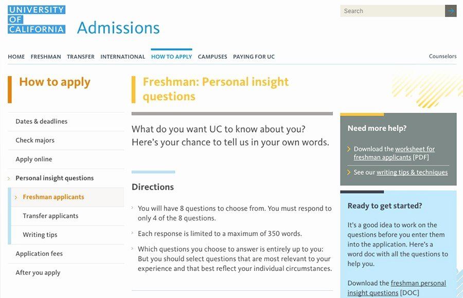 Uc Berkeley Recommendation Letter Best Of Uc Fice Of Admissions Releases New Essay Prompts for