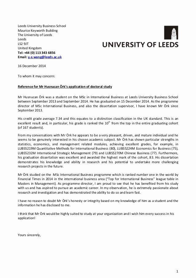 Uc Letter Of Recommendation Elegant Reference Letter Husnucan örk V2