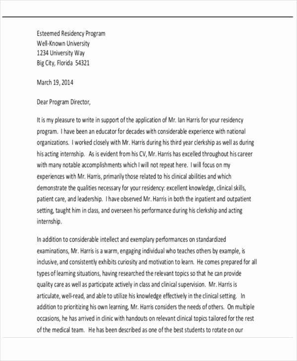 Ucf Letter Of Recommendation Beautiful Transfer Re Mendation Letter Template 5 Free Word