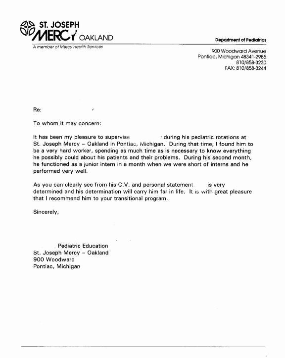 Uf Letter Of Recommendation form Inspirational Graduate School Re Mendation Letter