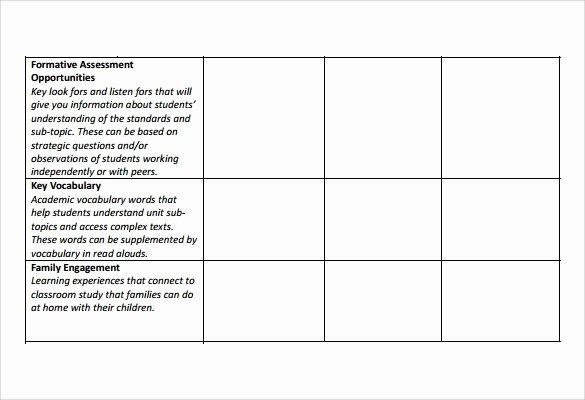 Unit Lesson Plan Template Beautiful 10 Unit Lesson Plan Samples
