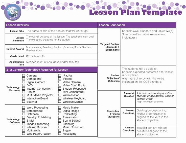 Unit Lesson Plan Template Luxury 32 Best Unit Plan & Lesson Plan Templates Images On