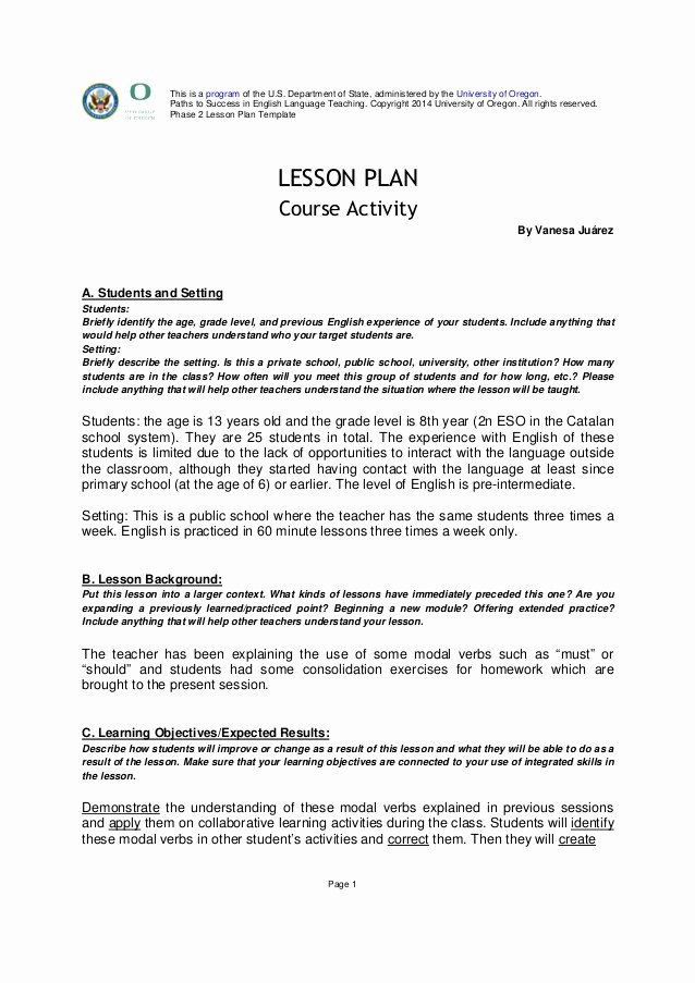 University Lesson Plan Template Fresh My Admission Essay Yesterday the E390 Web Fc2
