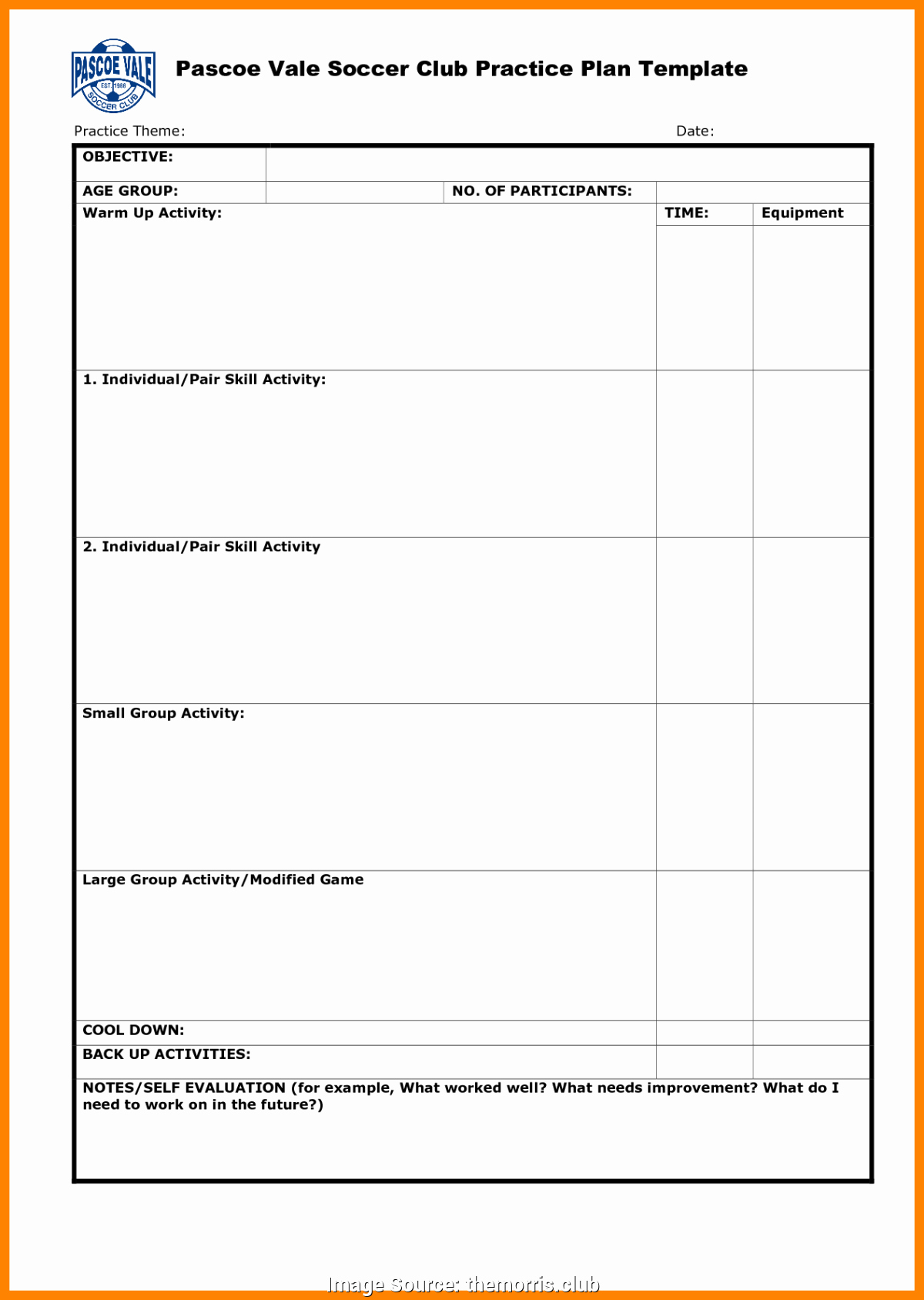 Us soccer Practice Plan Template Beautiful Valuable Fall Lesson Plans for Pre K toddler Lesson Plans