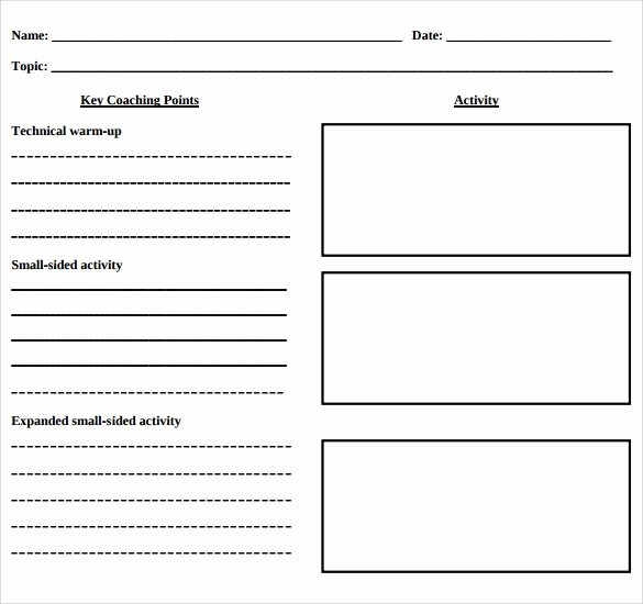 Us soccer Practice Plan Template Inspirational soccer Lesson Plan Template – soccer Lesson Plan Template