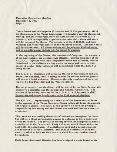 Ut Austin Recommendation Letter New Texas Wel E Dinner Letter Pg 2 the Dolph Briscoe