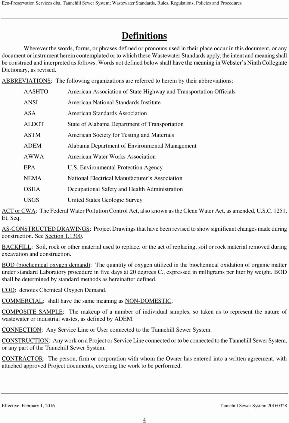 Utility Easement Agreement Template Beautiful ēco Preservation Services Pdf
