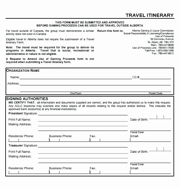Vacation Coverage Plan Template Fresh Excel Travel Itinerary Template Business Free Templates