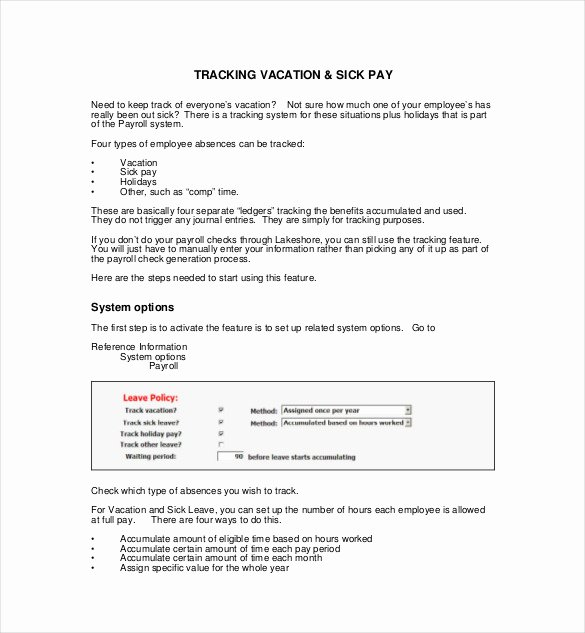 Vacation Coverage Plan Template Inspirational 7 Vacation Tracking Templates Free Sample Example