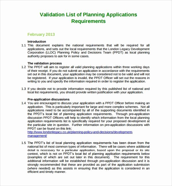 Validation Master Plan Template Best Of 9 Sample Validation Plan Template Free Documents In Pdf
