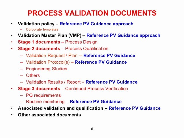 Validation Master Plan Template Inspirational Validation Boot Camp