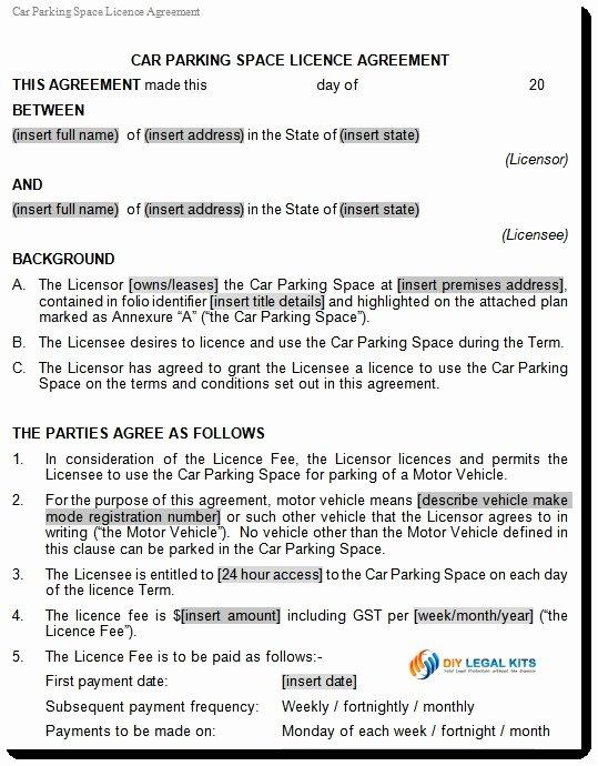 Vehicle Storage Contract Template Luxury Motorcycle Storage Motorcycle Storage Agreement form Boat