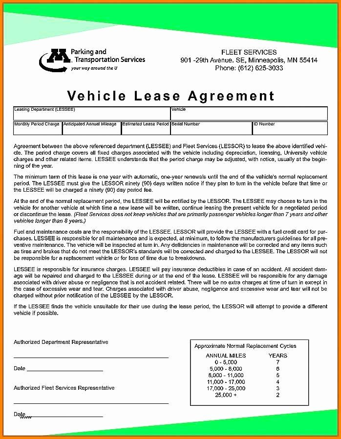 Vehicle Storage Contract Template Luxury Vehicle Storage Agreement Template Simple Lease Agreement
