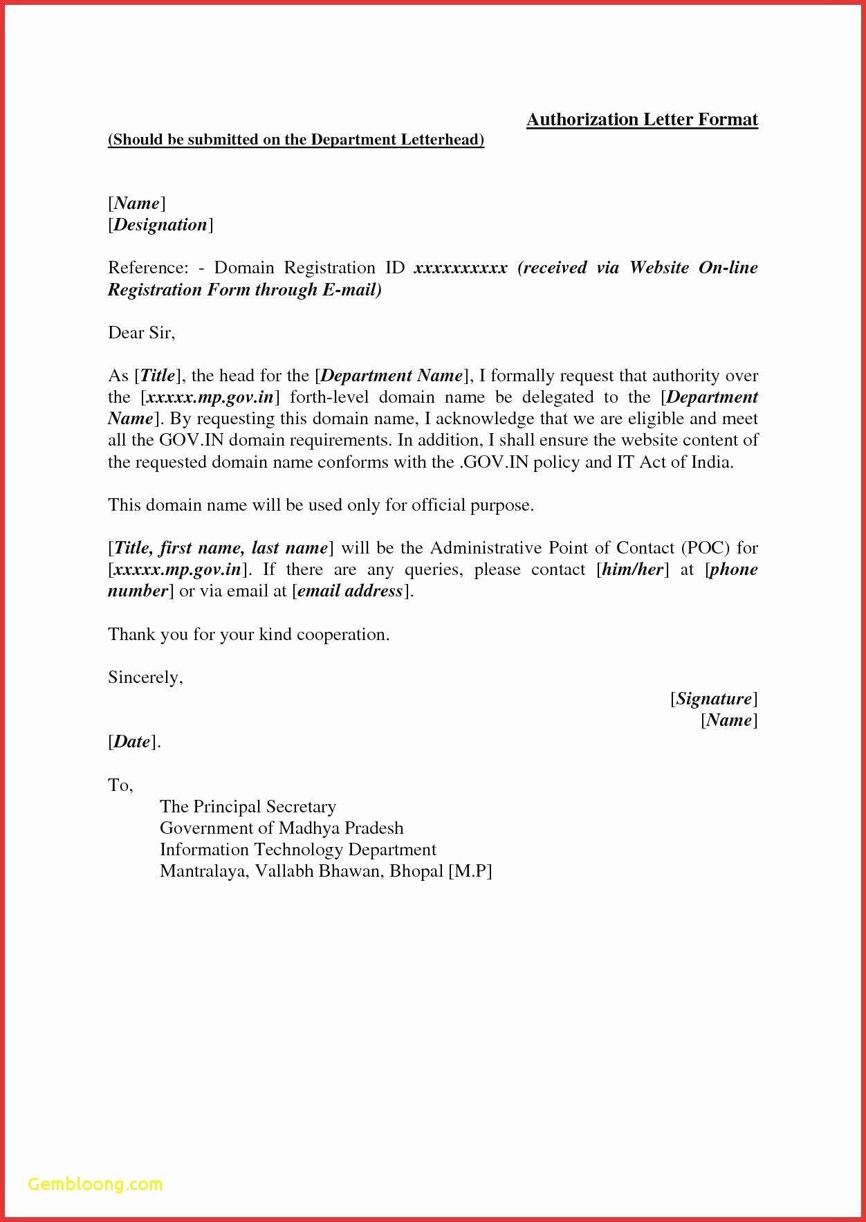Vendor Recommendation Letter Sample Elegant Sample Registration Letter School Vendor Application