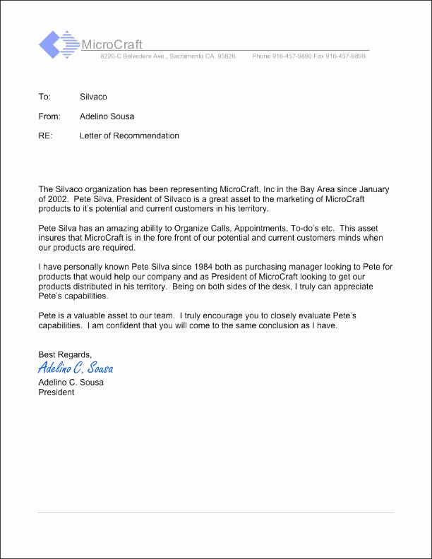 Vendor Recommendation Letter Sample Elegant Silvaco Pcb Our References
