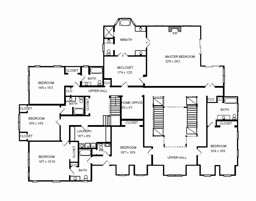 Visio Floor Plan Template New Visio Home Plan Sample
