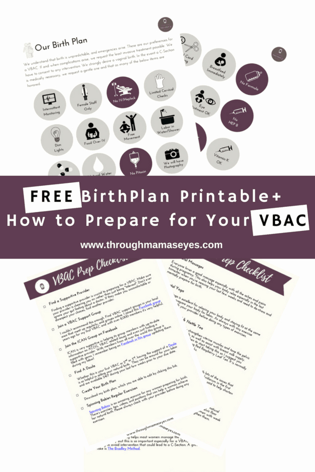 Visual Birth Plan Template Beautiful What You Need to Know About the Emotional Journey A