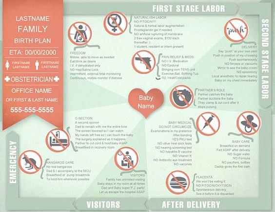 Visual Birth Plan Template Inspirational Birth Plan Printable Editable Keepsake Birthing Plan