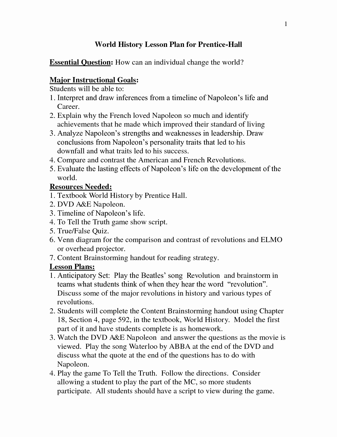 Vocal Lesson Plan Template Awesome 12 Best Of Elementary Art History Worksheets Art